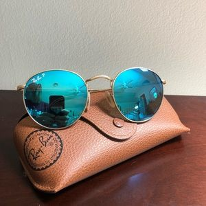 AUTHENTIC POLARIZED RB3447 Blue